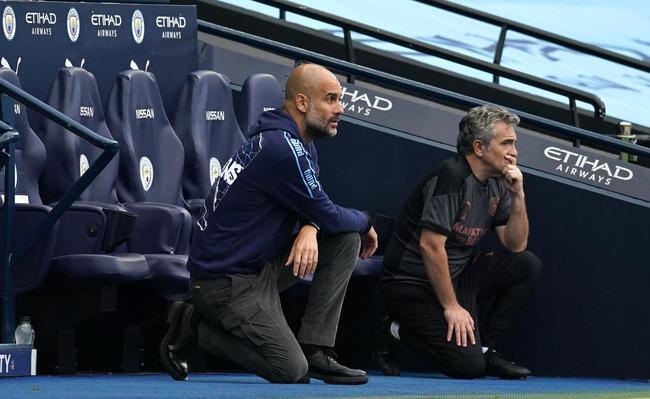 英超-席尔瓦热苏斯进球 曼城半场2-0领先