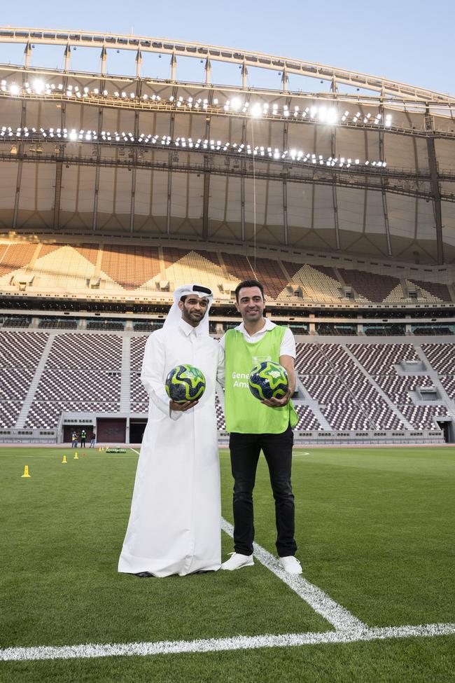 哈维致力于卡塔尔足球的发展