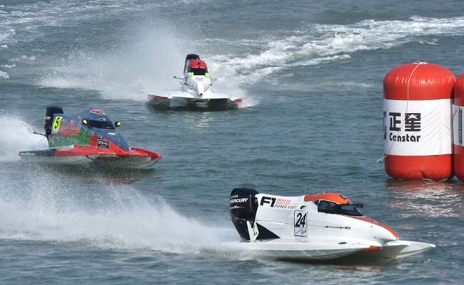F1摩托艇世锦赛中国大奖赛 厦门速度惊艳世界