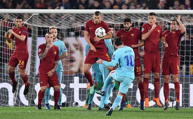 梅西任意球高出