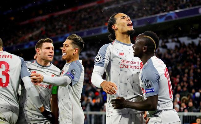 利物浦欧冠客胜拜仁晋级