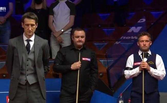 世锦赛暂停比赛为菲利普亲王默哀 球员被要求戴黑纱