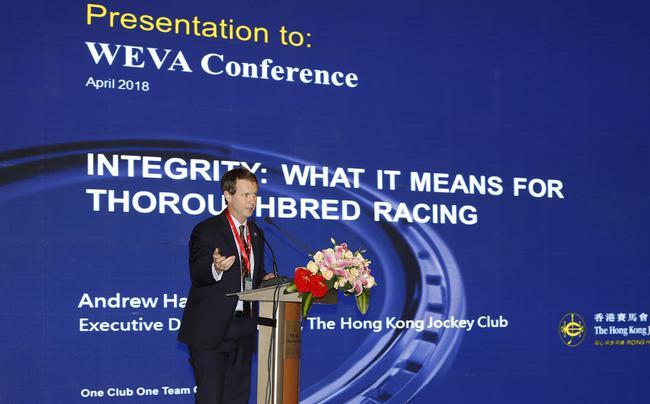 马会赛马事务执行总监夏定安先生发言