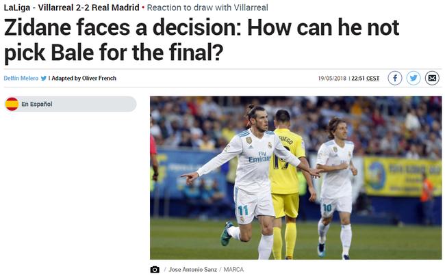 欧冠决赛C罗身边就该配个他 西媒都在为他拉票