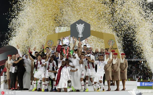 卡塔尔夺得亚洲杯