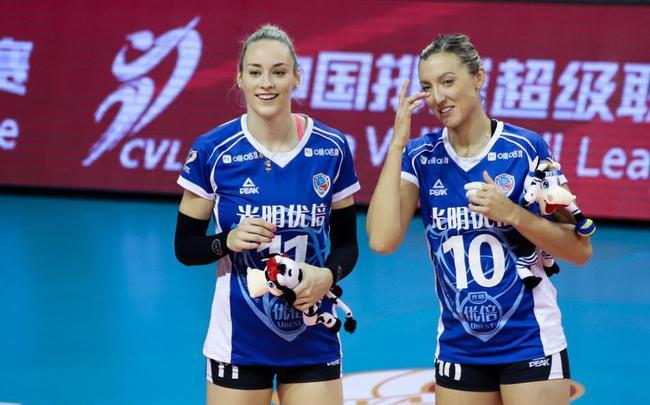 上海女排两外援