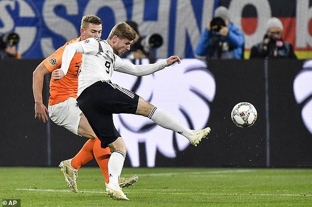 德国一度2-0领先