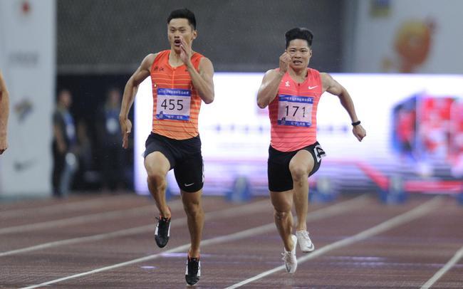 谢震业和苏炳添都将参加男子100米项目