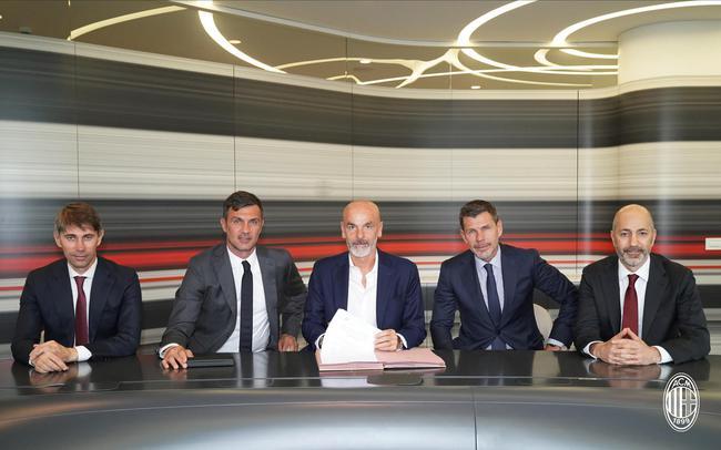 皮奥利签约AC米兰