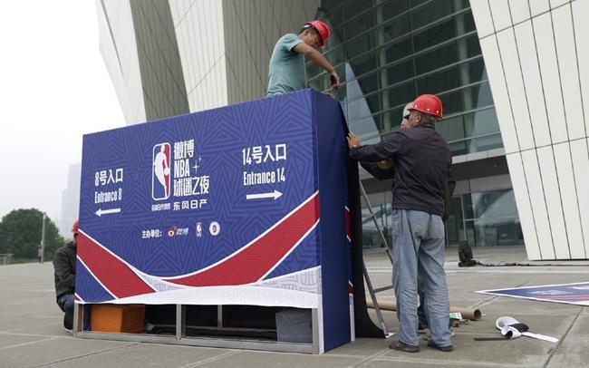 原定今晚的NBA球迷之夜遭取消 球迷入口被拆除
