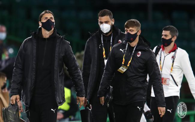 AC米兰欧联杯首发:伊布领衔 曼联+皇马租将出战