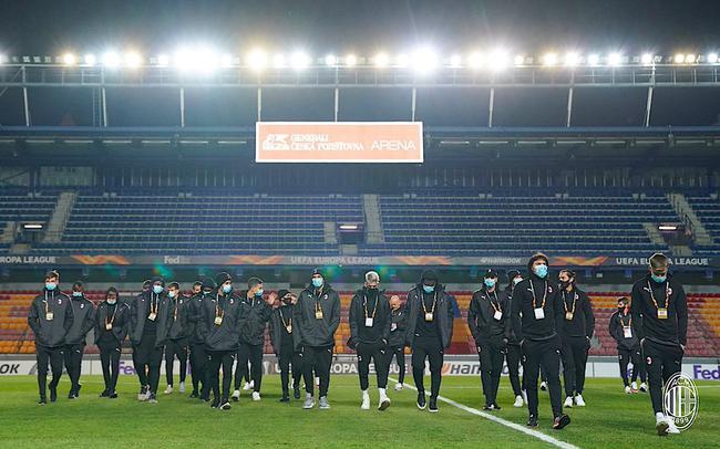 欧联-海于格再献一条龙破门 AC米兰客场1-0夺头名