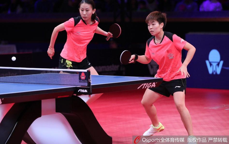 亚博:乒联总决赛中国首对出局组合 赛后称状况莫名其妙