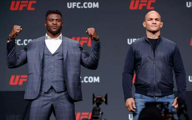 纳干诺VS桑托斯成为UFC on ESPN 3新的头条大战