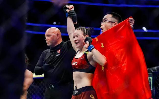 张伟丽期待UFC能在中国举办PPV赛事