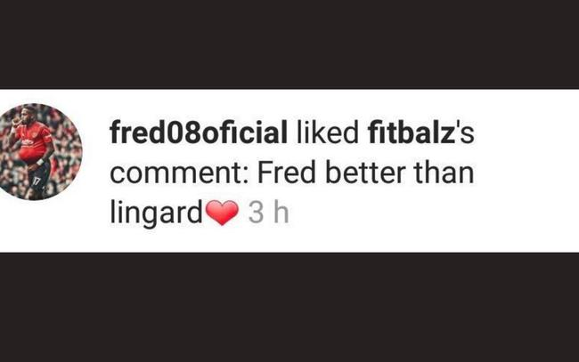 弗雷德点赞球迷说他比林加德强