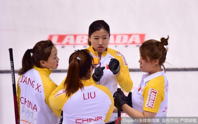 冰壶世界杯中国女队力挫苏格兰