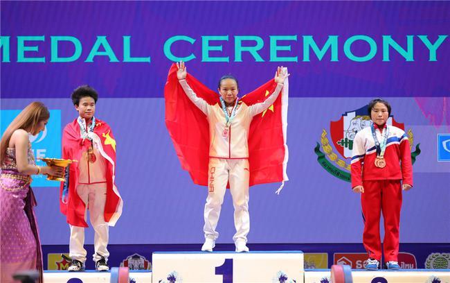 蒋惠花49公斤级夺冠