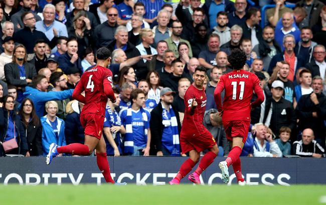 英超-萨拉赫助攻利物浦2-1客胜切尔西全胜领跑