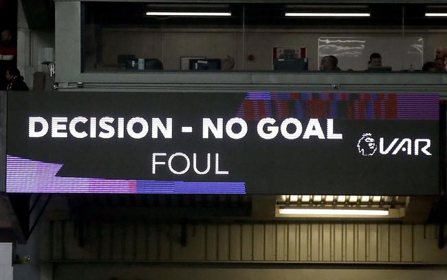VAR判定菲尔米诺进球无效