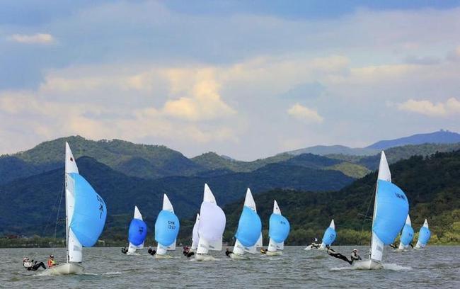 2020年宁波湾帆船赛 全国帆船高手齐聚为奥运练兵