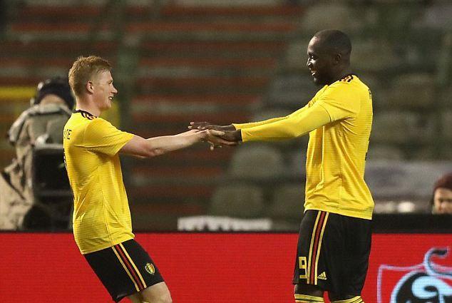 比利时4-0大胜