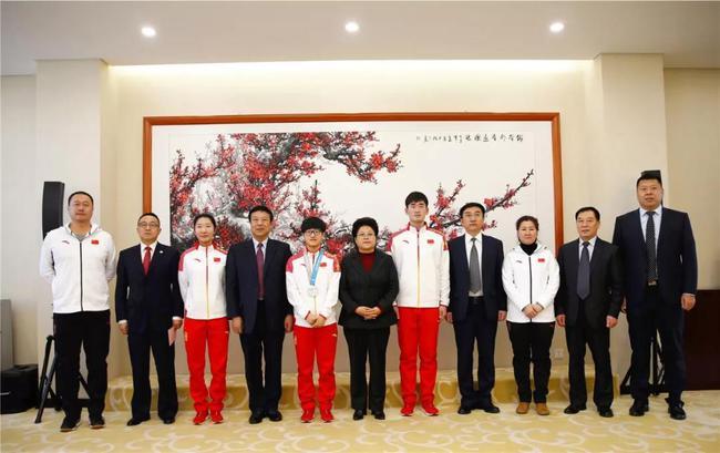 内蒙古行动员李靳宇、耿文强、韩梅首次参赛,取得历史性突破。