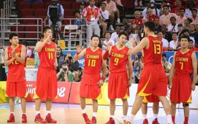 08年的中国男篮