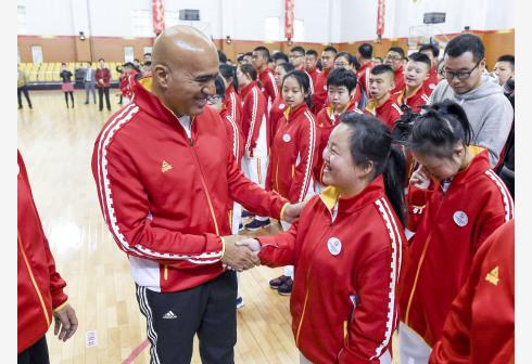 中国特奥团长:选手状态良好 全方位保障运动员参赛