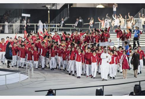 第十五届世界夏季特殊奥林匹克运动会在阿布扎比开幕