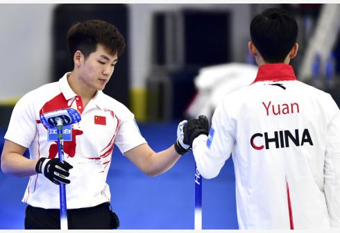 中国男子冰壶队