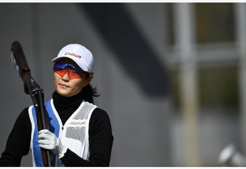 敦岳恒获得2020年全国射击锦标赛飞碟双向比赛冠军