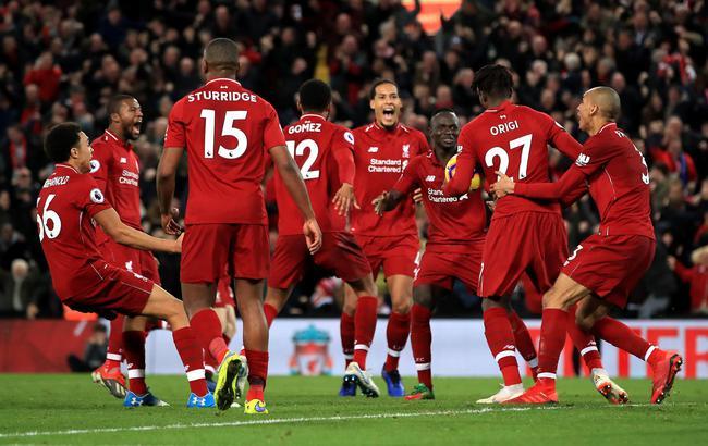 利物浦绝杀精彩瞬间全程回顾