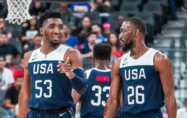 美国男篮的双核