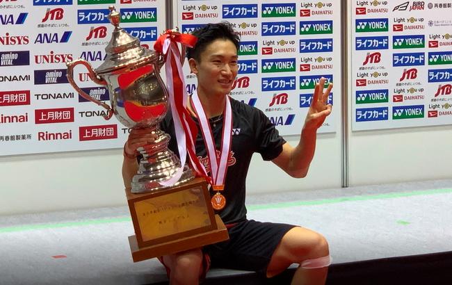 桃田贤斗的新年愿望:在东京奥运会上赢得金牌