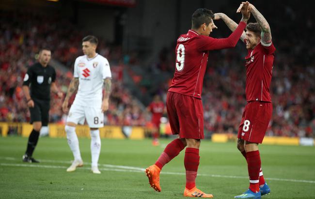 菲尔米诺传射 利物浦3-1告捷