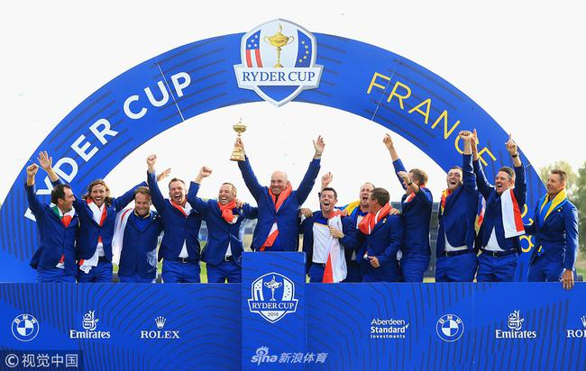 法国高尔夫火不起来 莱德杯对打球人口影响微弱