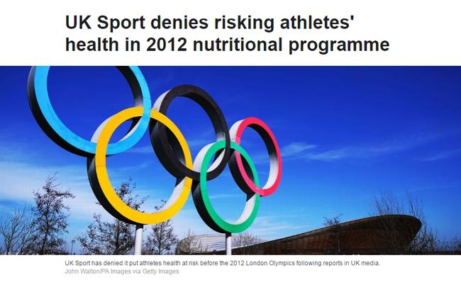 英国体育否认曾提供神药:不会为了奖牌不折手段