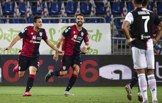 卡利亚里2-0尤文图斯