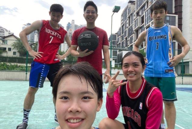 避免球员只训练太沉闷 大马国羽开始快乐足球篮球