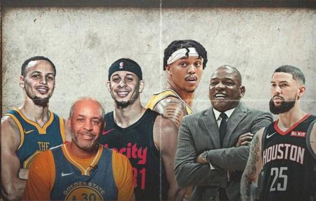 NBA两大家族联姻