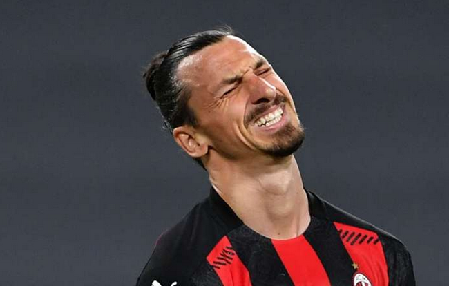 伊布遭重击!踢尤文膝盖受伤 可能没法参加欧洲杯