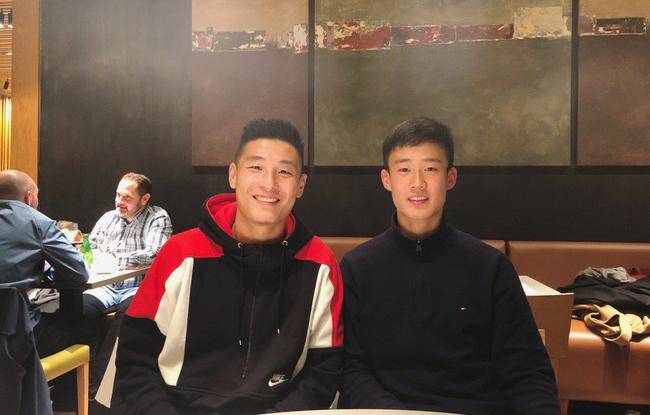 """中国球员的""""西漂""""生活"""
