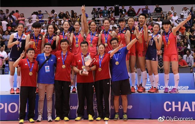 中国队是卫冕冠军