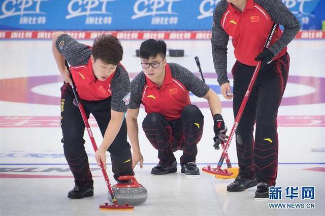 中國冰壺男隊(資料圖)