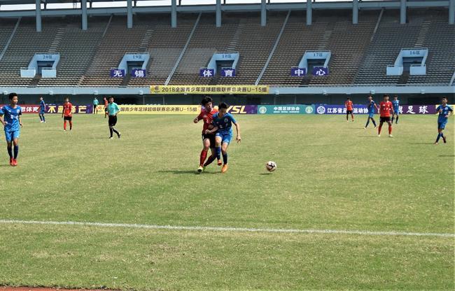 两场大逆转青超联赛总决赛U-15八强产生 鲁能晋级