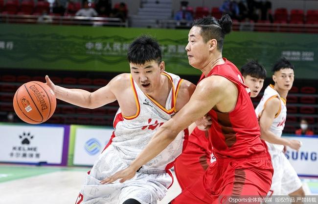 全运会男篮:湖北3人20+ 杨林祎30+11+9克陕西
