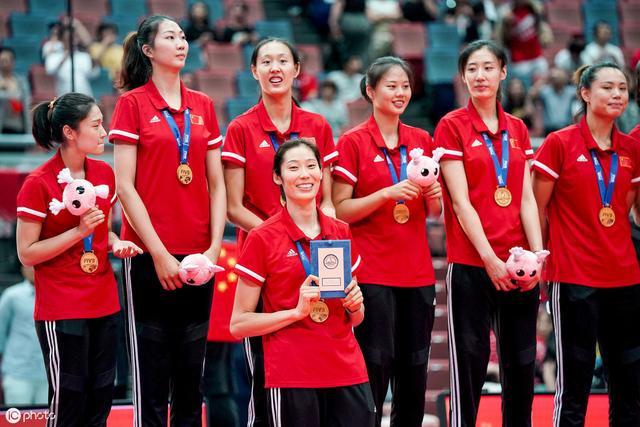 中国女排问鼎世界杯