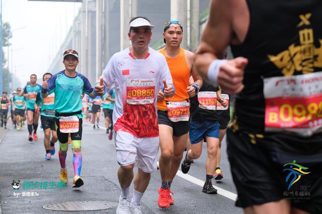 杭州初中生马拉松初体验 终于做了次风一样的男子