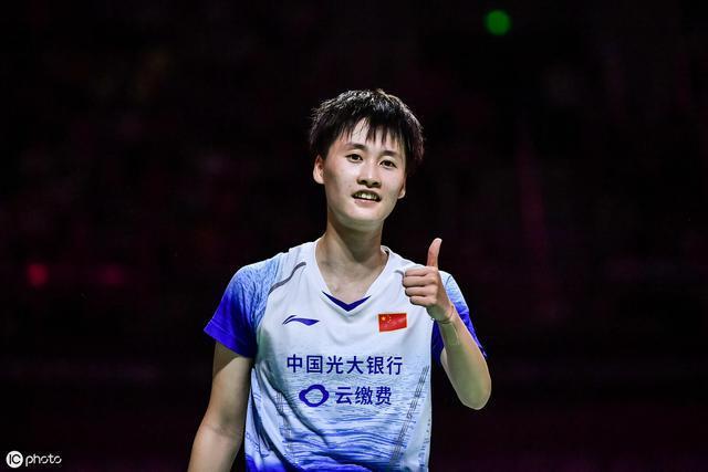 中国香港赛陈雨菲闯进决赛 今年五次决赛均夺冠